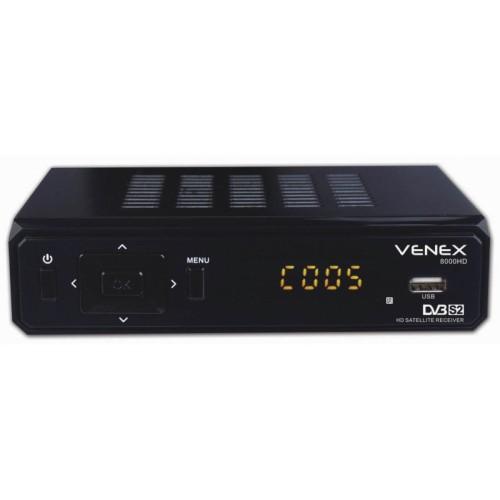 ΔΟΡΥΦΟΡΙΚΟΣ ΔΕΚΤΗΣ FTA HD VENEX8000HD